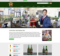 Gurkha Beer, United Kingdom